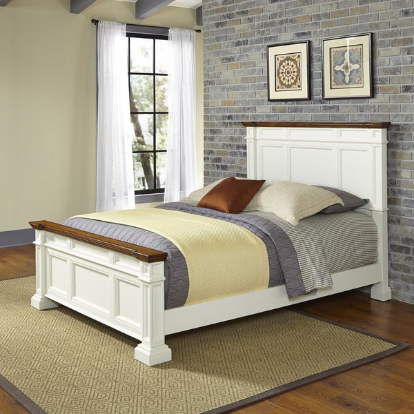 Americana Queen Bed by Home Styles