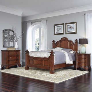 Home Styles Santiago Bed, Night Stand, and Chest