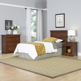Home Styles Chesapeake Twin Headboard, Night Stand, and Chest
