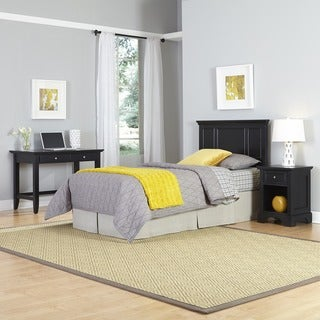 Bedford Twin Headboard, Night Stand, and Student Desk by Home Styles