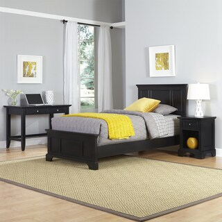 Bedford Twin Bed, Night Stand, and Student Desk by Home Styles