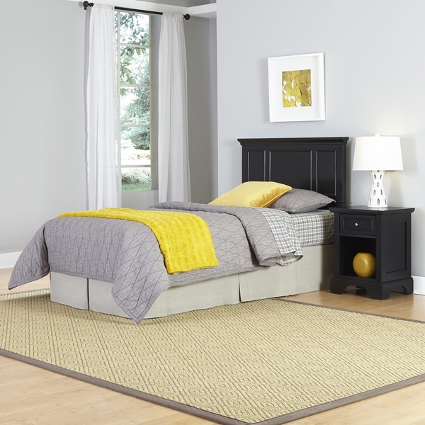 Bedford Twin Headboard and Night Stand by Home Styles