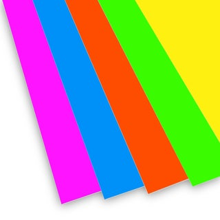Flipside Neon Color 20 x 30 x 3/16-inch Foam Board (Pack of 10)