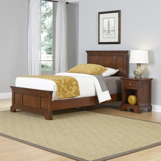 Home Styles Chesapeake Twin Bed and Night Stand