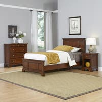Chesapeake Twin Bed, Night Stand, and Chest by Home Styles