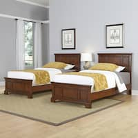 Chesapeake Two Twin Beds and Night Stand by Home Styles