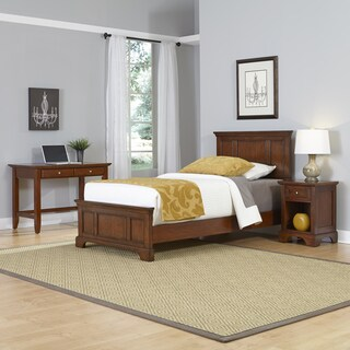 Chesapeake Twin Bed, Night Stand, and Student Desk by Home Styles