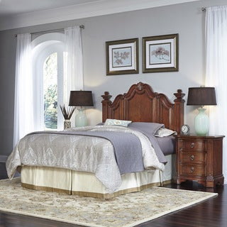 Home Styles Santiago Headboard and Two Night Stands