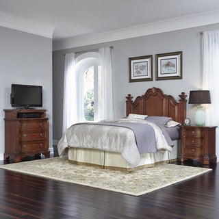 Santiago Headboard, Night Stand, and Media Chest by Home Styles