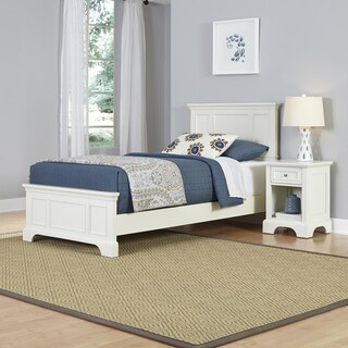 Naples Twin Bed and Night Stand by Home Styles