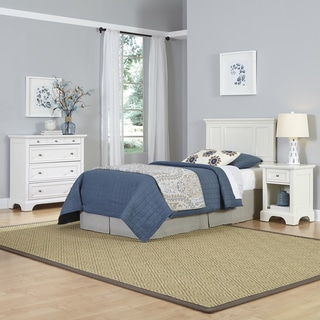 Home Styles Naples Twin Headboard, Night Stand, and Chest