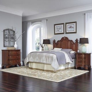 Santiago Headboard, Two Night Stands, and Chest by Home Styles