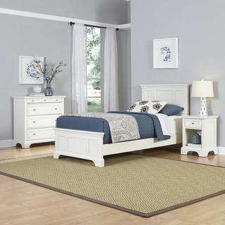 Naples Twin Bed, Night Stand, and Chest by Home Styles