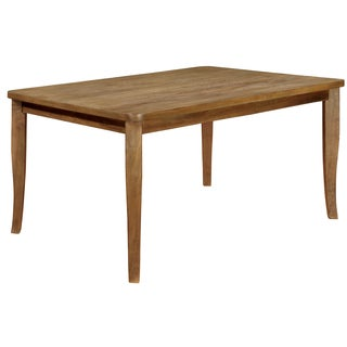 Furniture of America Hallins Natural Oak Dining Table