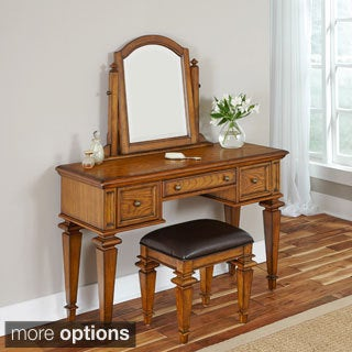 Home Styles Americana Vanity and Bench