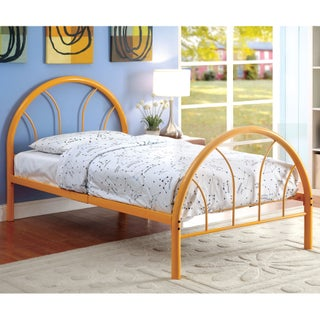 Furniture of America Linden Double Arch Metal Full Bed