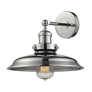 Polished Nickel Newberry Collection 1-Light sconce