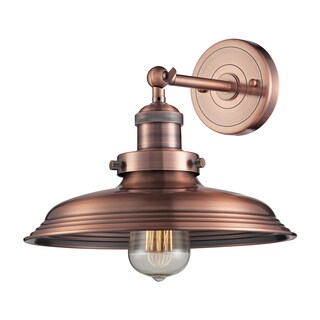 Antique Copper Newberry Collection 1-Light sconce