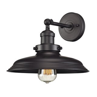 Oil Rubbed Bronze Newberry Collection 1-Light sconce