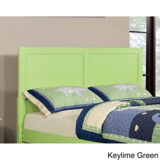 Furniture of America Colorpop Cottage Style Wood Headboard