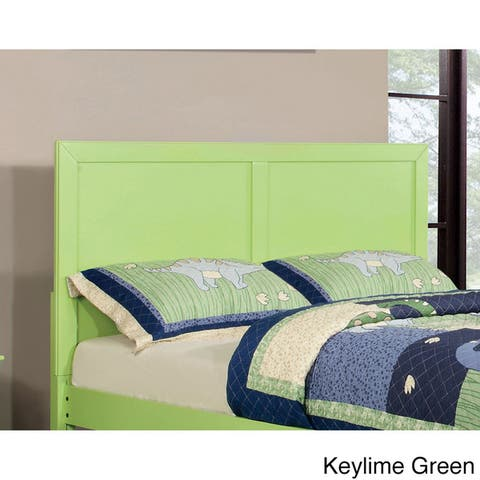 Furniture of America Pice Cottage Solid Wood Panel Design Headboard