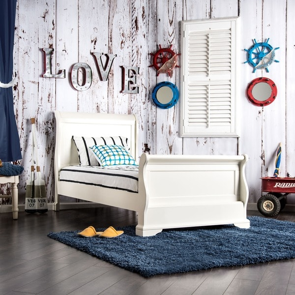 Shop Furniture Of America Vetz Transitional White Solid
