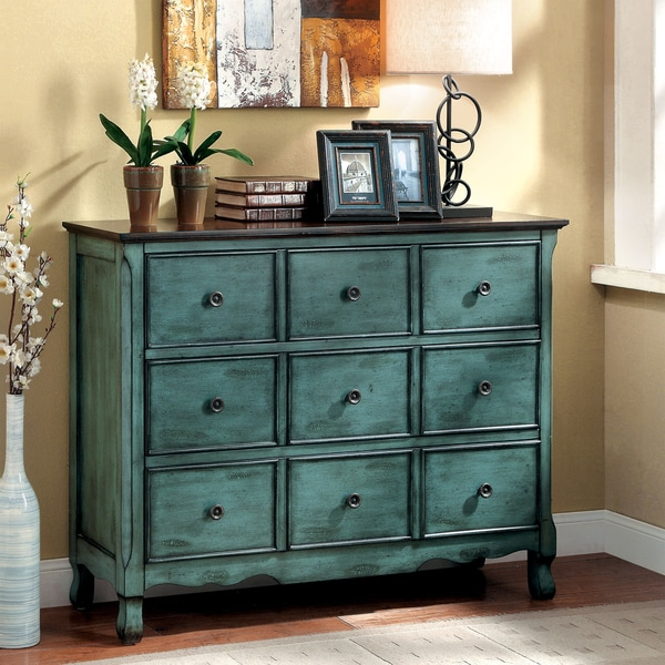 Shop Furniture Of America Viellen Vintage Style Antique Storage Chest Free Shipping Today