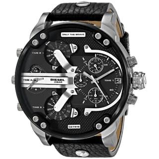 Diesel Men's DZ7313 Mr. Daddy Black Watch (Option: Black)|https://ak1.ostkcdn.com/images/products/9933033/P17088912.jpg?impolicy=medium
