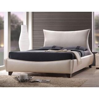 Galton Pearl White Queen Bed
