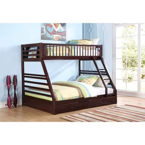 Jason Espresso Twin/ Queen Bunk Bed