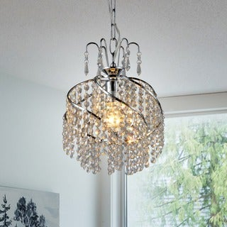 Warehouse of Tiffany Spring 10-inch Crystal Chandelier