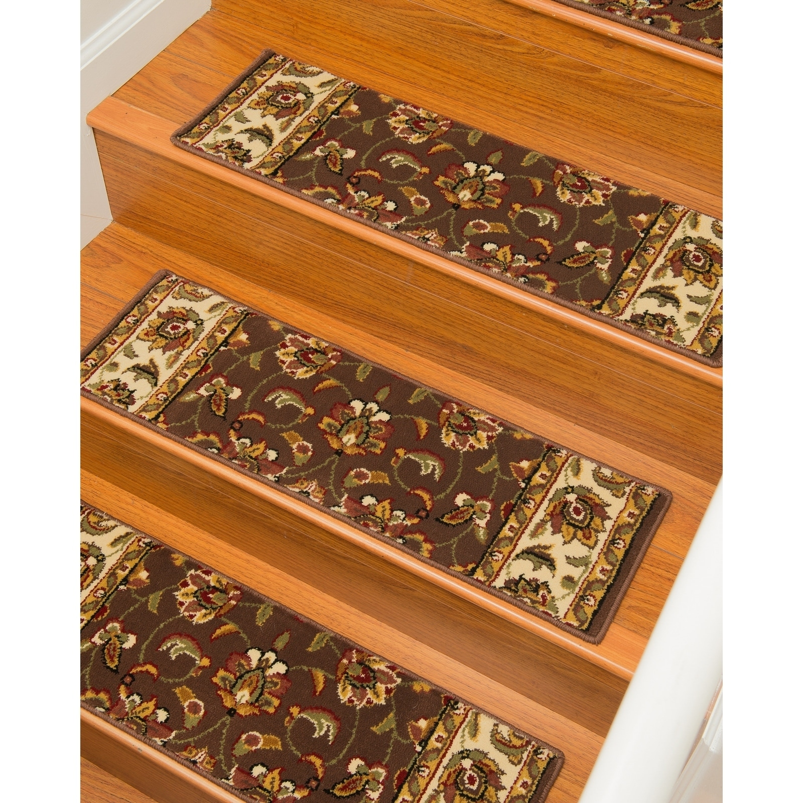 Image of: Shop Black Friday Deals On Natural Area Rugs Summit Polypropylene Stair Treads Carpet Set Of 13 9 X29 13pc 9 X 29 Overstock 9933662