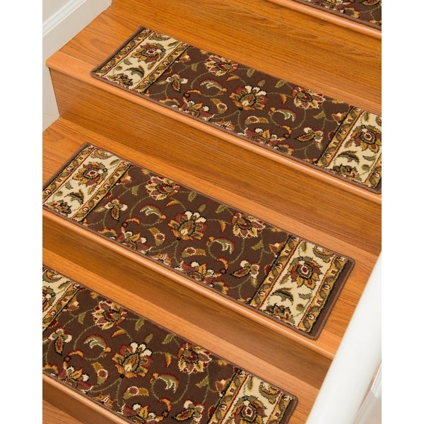 """Natural Area Rugs Summit, Polypropylene, Stair Treads Carpet Set of 13 (9""""x29"""") - 13PC (9"""" x 29"""")"""