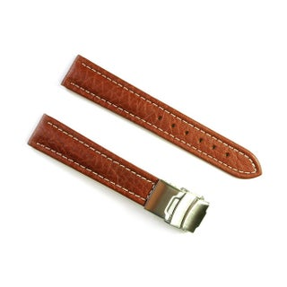 Banda Wyoming Buffalo Leather Watch Strap (3 options available)