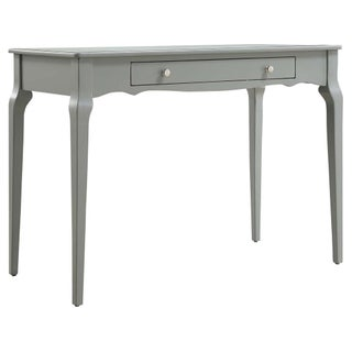Daniella 1-drawer Wood Accent Office Writing Desk by iNSPIRE Q Bold (Option: Grey)