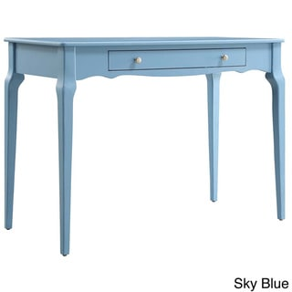 Daniella 1-drawer Wood Accent Office Writing Desk by INSPIRE Q