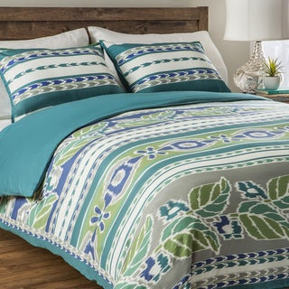 Jovi Home Mediterranean 3-piece Duvet Cover Set