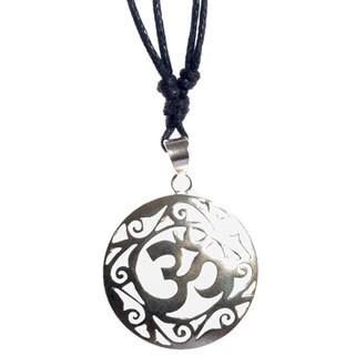 Om in My Soul Pendant (Nepal)