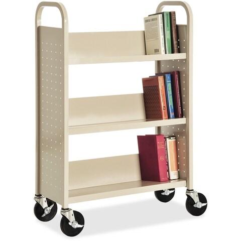 Lorell Single-sided Book Cart