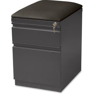 Lorell Seat Cushion Top Mobile File Pedestal File