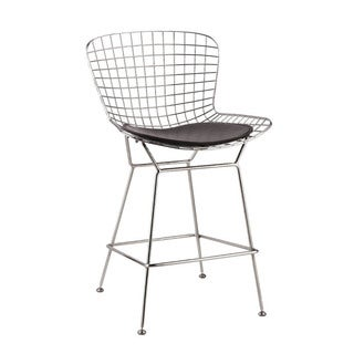 Wire Counter Height Chair (Set of 2)