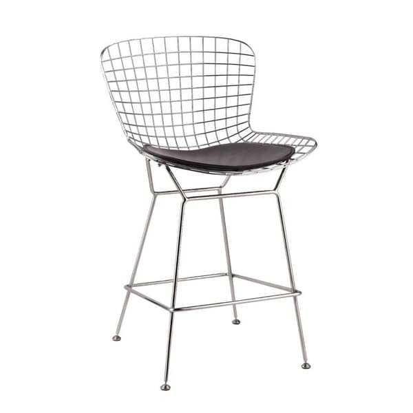 Wire Counter Height Chair Set Of 2