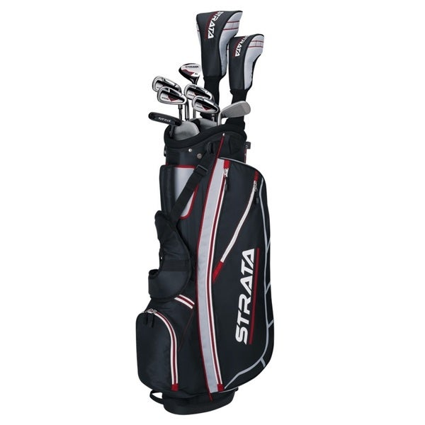 Callaway Men's Right-Handed Strata Complete Set Golf Clubs With Bag