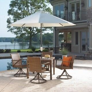 Panama Jack 5 PC St Barths Swivel Chair Dining Set