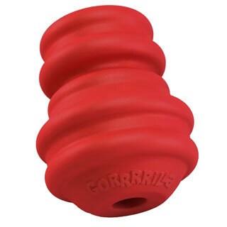 Multipet Gorrrrilla Tough Red Rubber Toy