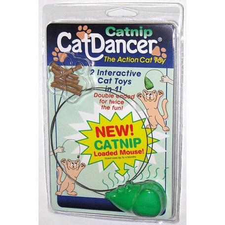 Cat Dancer Catnip Interactive Mouse Cat Toy (CatDancer Lo...