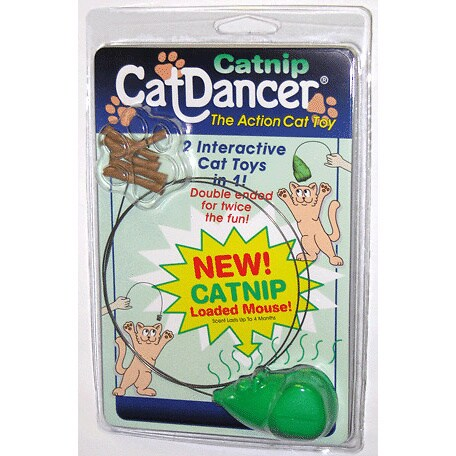 Cat Dancer Catnip Interactive Mouse Cat Toy