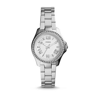 Fossil Women's AM4576 Cecile Stainless Steel Chronograph Watch