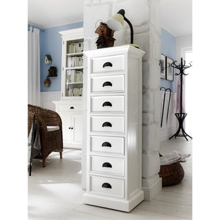 NovaSolo Mahogany 7-drawer Storage Tower