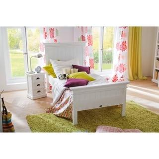 NovaSolo White Mahogany Twin-size Bed